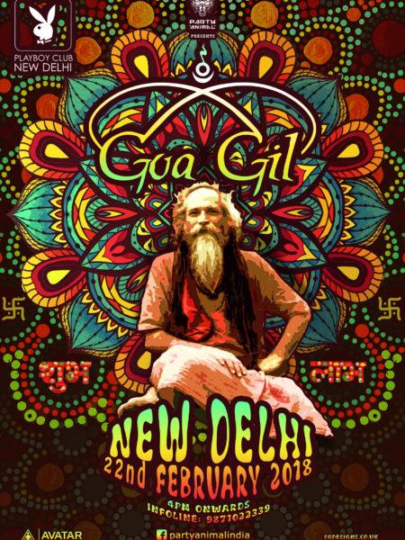 Delhi A4 Poster - Goa Gil 2018