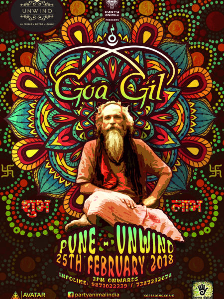PUNE - GOA GIL FLYER POSTER PROMO A3