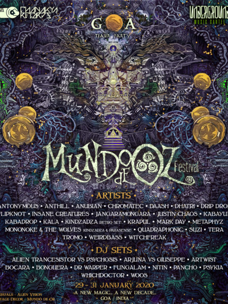 Mundooz De Festival | Jan 29 - 31 | Goa, India