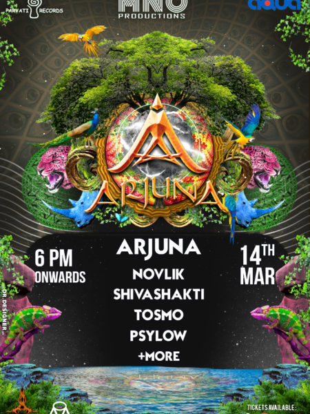arjuna live in Aqua-The park Hyderabad