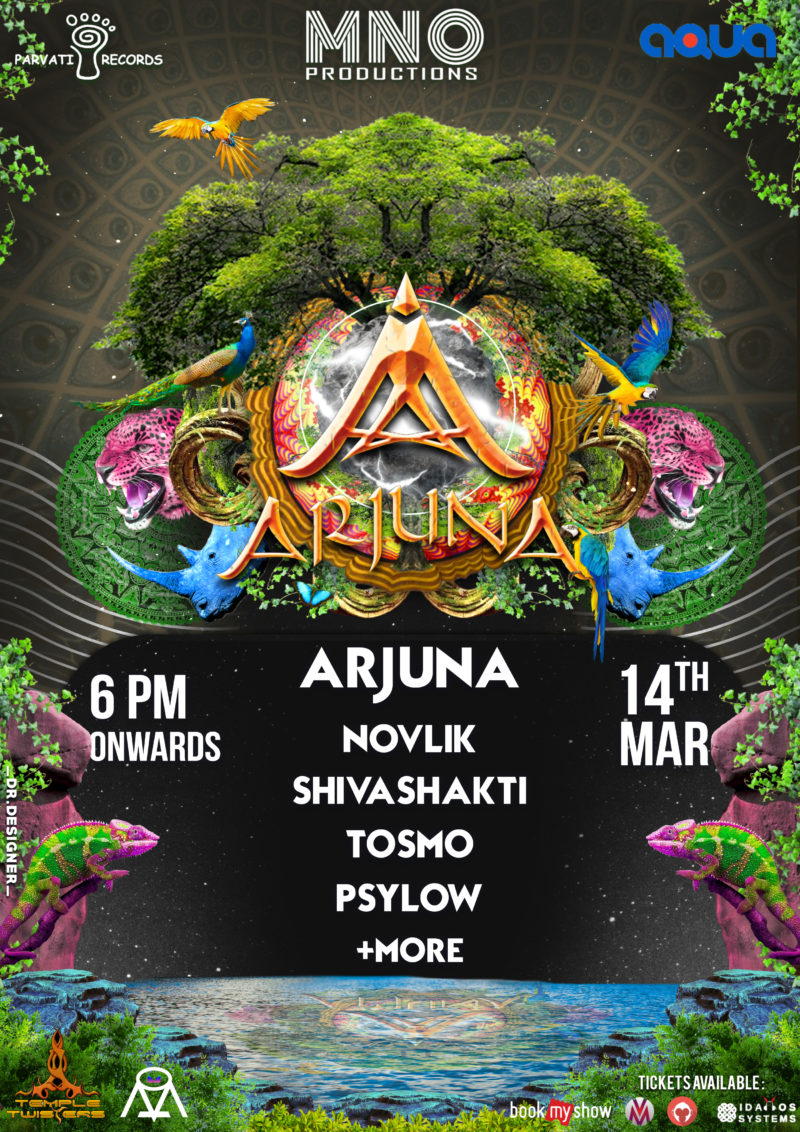 arjuna live in Aqua-The park Hyderabad